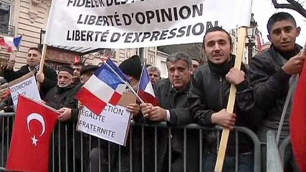 Turkish protest over French 'genocide' bill