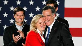 Romney takes Iowa Republican vote by hair's breadth