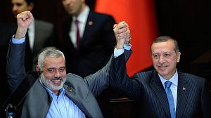 How times have changed: Hamas leader feted in Turkey