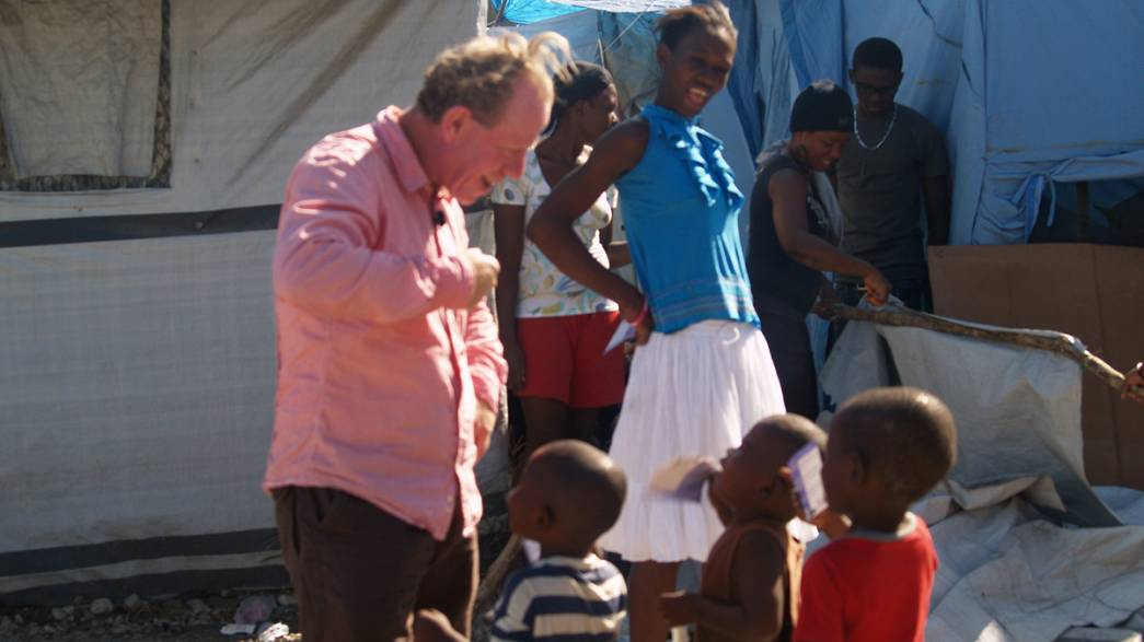 Reporter's blog: Dog eat dog in downtown Port-au-Prince