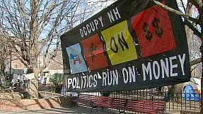 Primaries spark more protests by Occupy activists