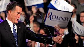 Romney claims New Hampshire primary