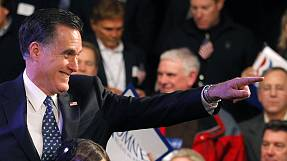 Romney wins in New Hampshire