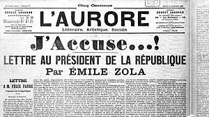 Back in the Day: j'accuse!