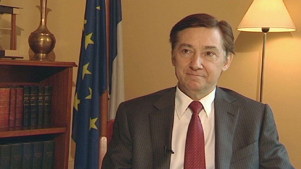 Denys Gauer, der Botschafter Frankreichs in Bagdad