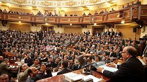 Egypt's first free parliament gets to work