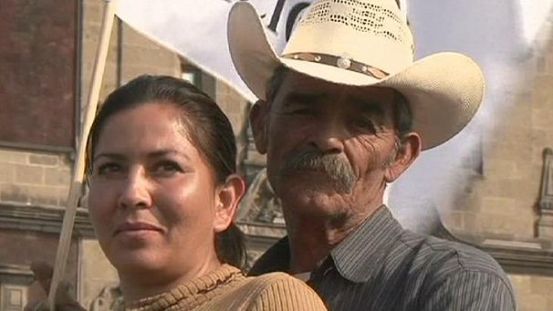 Drought hit Mexican farmers