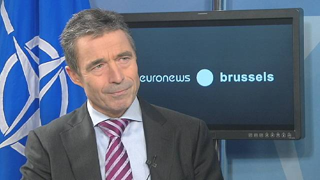 NATO's Rasmussen: cuts herald defence sharing