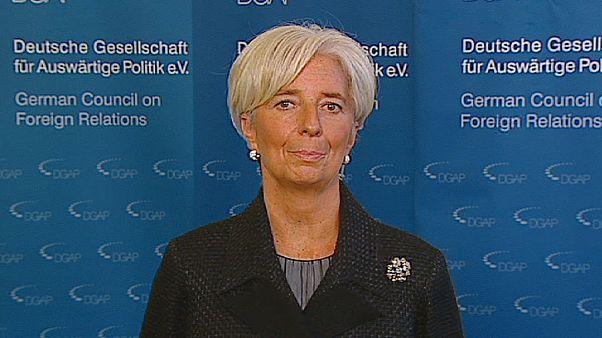 """Christine Lagarde: """"il 2012 deve essere l'anno della guarigione"""""""