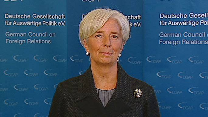 IMF's Lagarde: '2012 a year of healing'