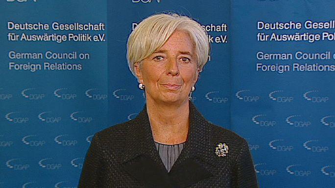 "Christine Lagarde : ""2012 sera une année de guérison"""