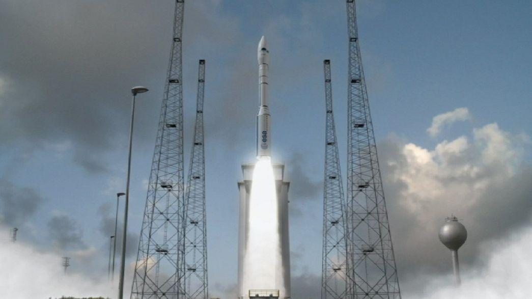 """""""Vega"""": Novo foguetão chega ao espaço"""