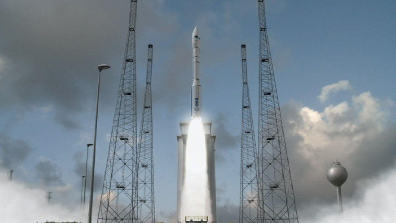 Véga, un nouveau lanceur spatial vient de naître