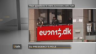 El papel de la presidencia europea