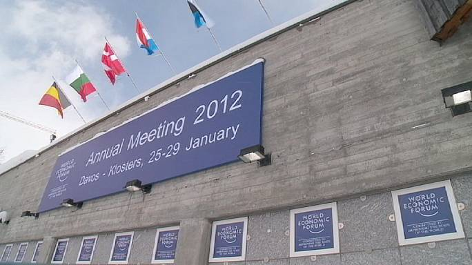 Eurozone crisis dominates debates at Davos