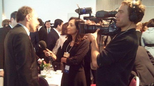 Davos blog: Schmoozing, Swiss style