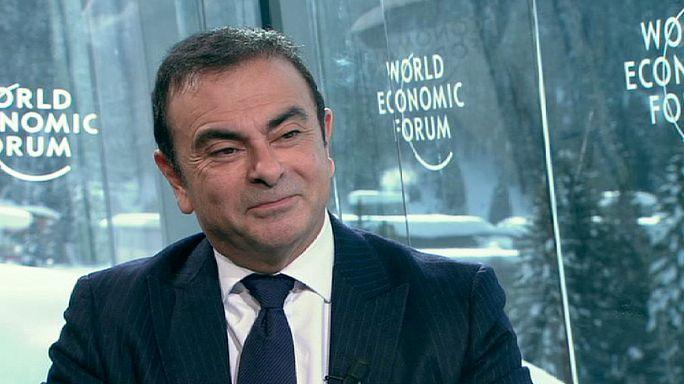 """Ghosn: """"Davos 2012'ye karamsarlık hakimdi"""""""