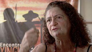 نساء في حرب :انطونيا تقاتل اليوم لرفاهية اجيال الغد في أمازونيا