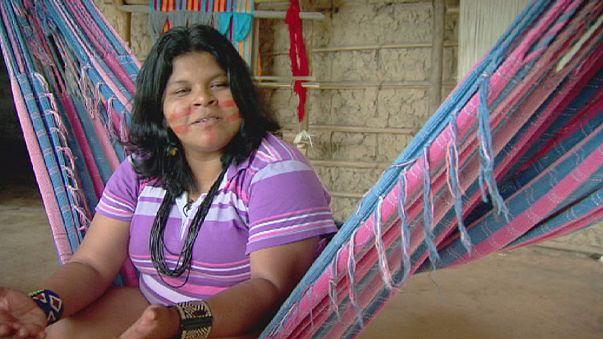نساء في حرب :سونيا تدافع عن حقوق شعوب الكواجاجارا في منطقة الامازون