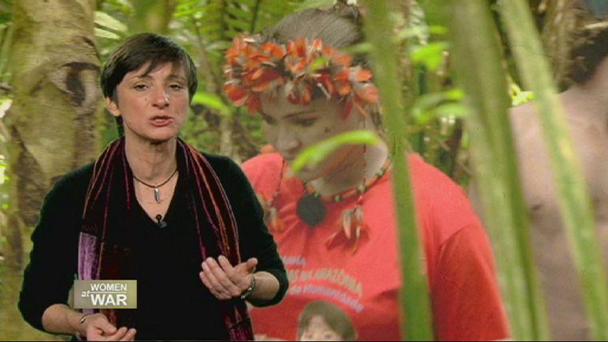 Brasilianische Frauen kämpfen für den Erhalt des Amazonas-Regenwaldes