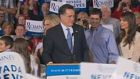 Romney wins Nevada primary