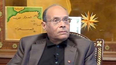 Tunisia's Marzouki: 'We want no Baath flag over our country'