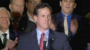 Santorum's hat-trick reignites Republican race