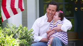 Santorum's Midwest thrust