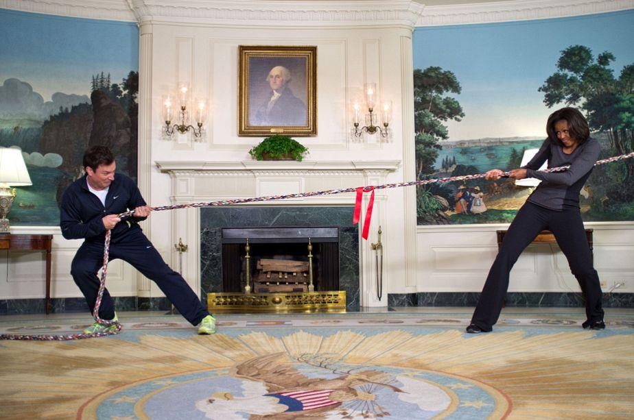 Wie stark ist Michelle Obama?