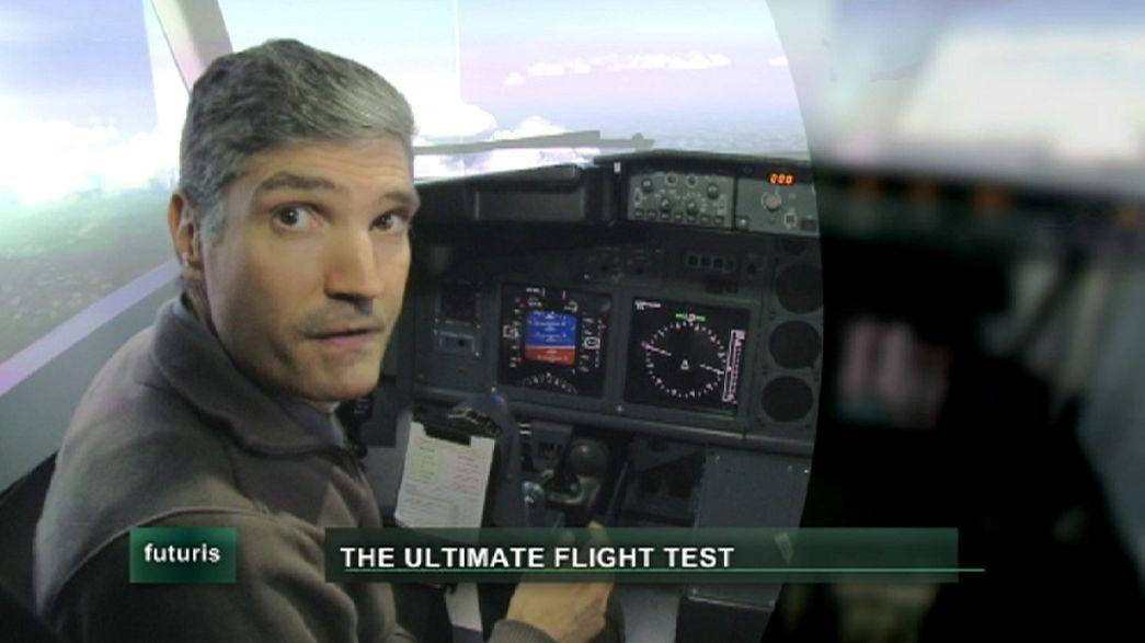 Aerei e voli estremi, in arrivo i simulatori di nuova generazione