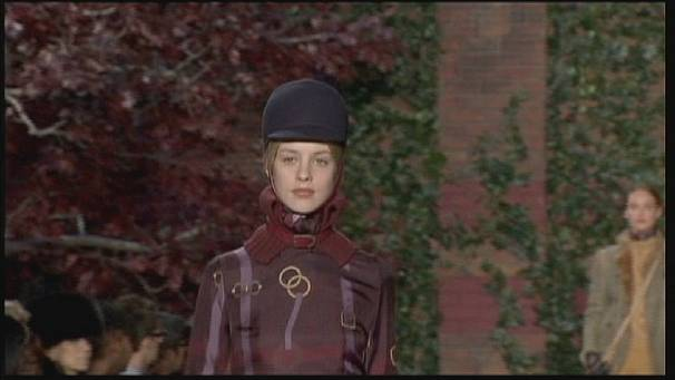 Equestrian theme dominates NY fashion week