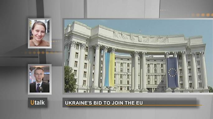 Ukraine's bid to join the EU