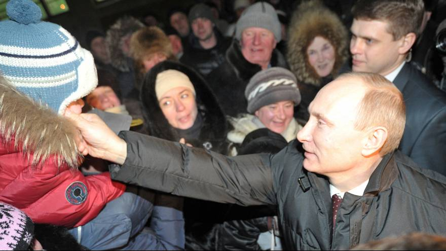 Russian election: middle class call for change