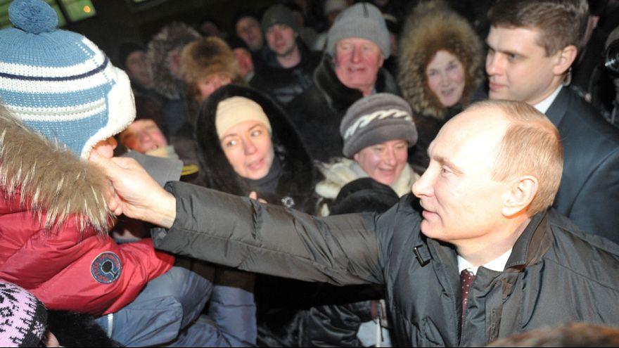 La presión popular cerca a Putin