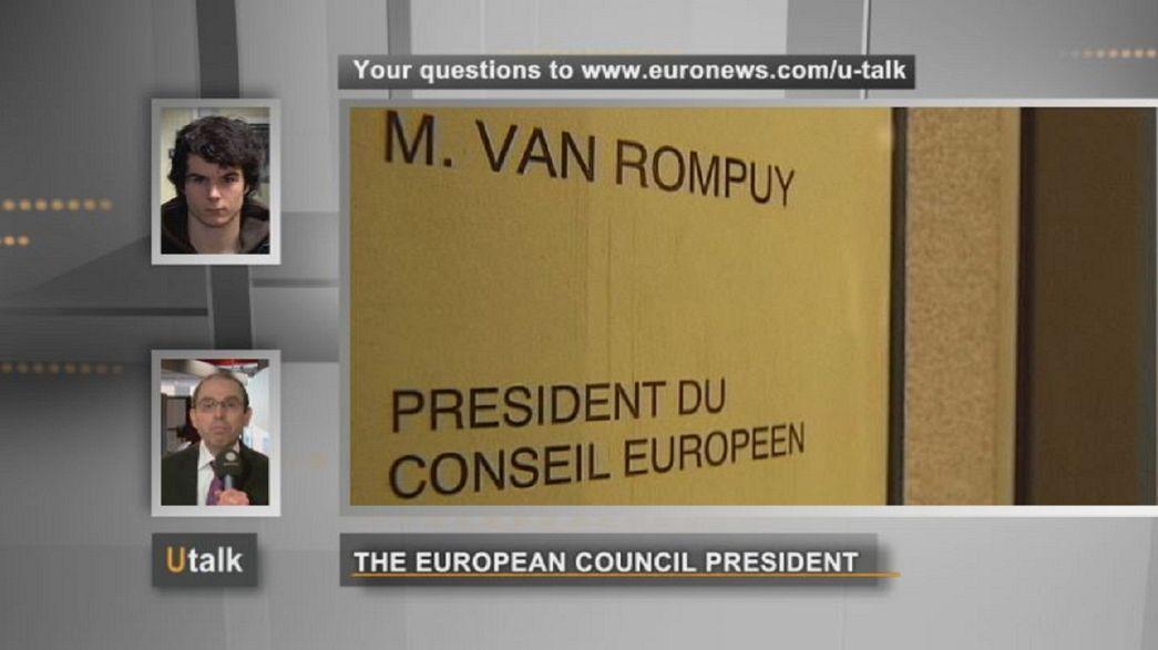 ¿Más visibilidad para Van Rompuy?