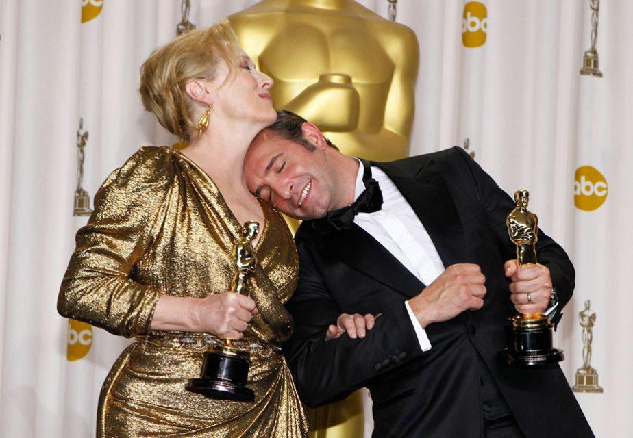 Meryl Streep und Jean Dujardin im Glückstaumel