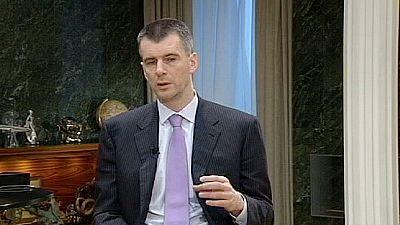 """Mikhail Prokhorov : """"La campagne présidentielle peut encore nous réserver des surprises"""""""