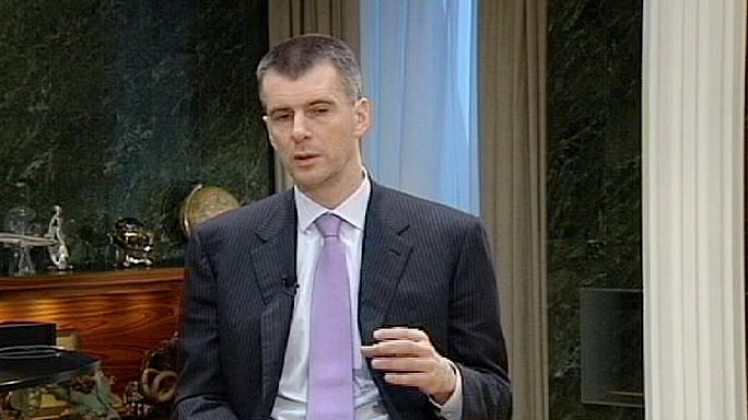 Mikhail Prokhorov: 'This campaign could reveal some serious surprises'.