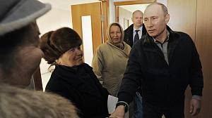 Latest figures confirm Putin's pole position for election