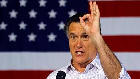 Romney 'being someone else'