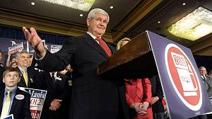 A Georgia win rescues Gingrich campaign