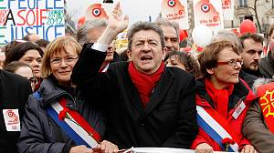 French working class rally for their presidential hopeful