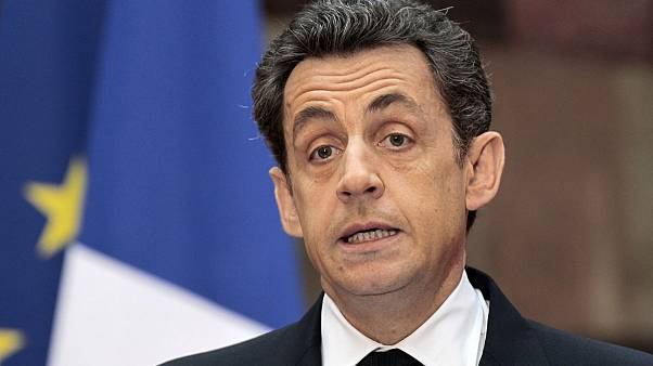 Notable dates during the first term in office of French President Nicolas Sarkozy