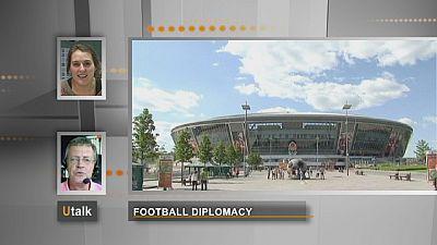 La diplomatie du football