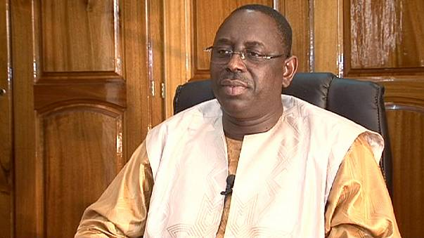 Senegal's President Macky Sall gives first interview
