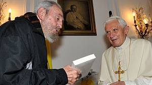 When Benedict met Fidel…