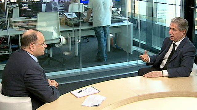 """الرئيس اللبناني السابق أمين الجميل في حديث خاص ليورونيوز:""""كل الخراب و"""