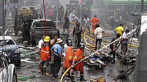 Nine dead, 100 wounded in Thai bomb blasts