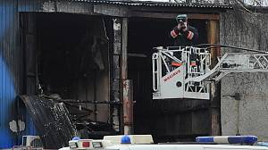 Migrant workers killed in Moscow warehouse fire