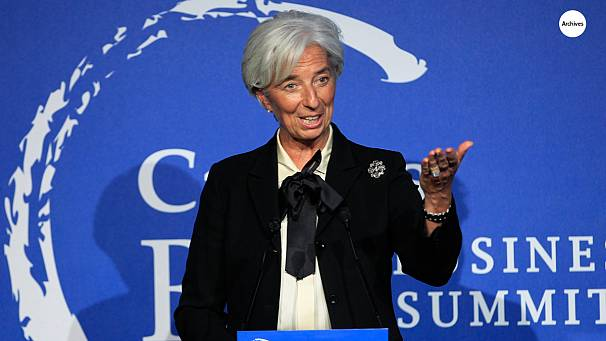 IMF chief says recovery still fragile, some improvement